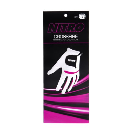 Nitro Crossfire Golf Glove - Ladies LH Large