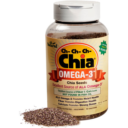 As Seen on TV Ch-Ch-Ch-Chia Omega-3 Chia Seeds, 1 lbs