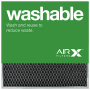 AIRx Filters Washable 20x20x1 Permanent Air Filter MERV 1 Heavy Duty Steel Mesh Filter Replacement to Replace Filtrete Basic Filter, 1-Pack