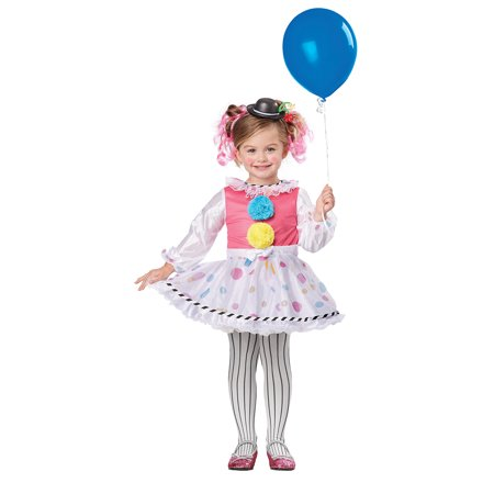 Childs Bubbles The Clown Costume