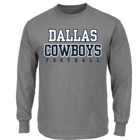 362b070e5cd NFL Dallas Cowboys Men's Big and Tall Long Sleeve Tee - Walmart.com