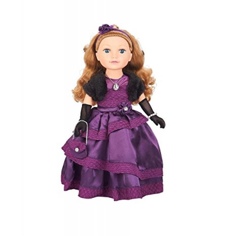 """Toys 'R' Us Journey Girls 18"""" Mikaella Holiday Doll - Pur..."""