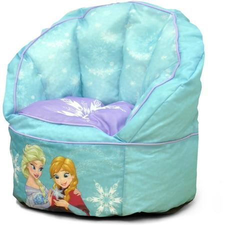 Disney Frozen Sofa Bean Bag Chair With Piping Walmart Com