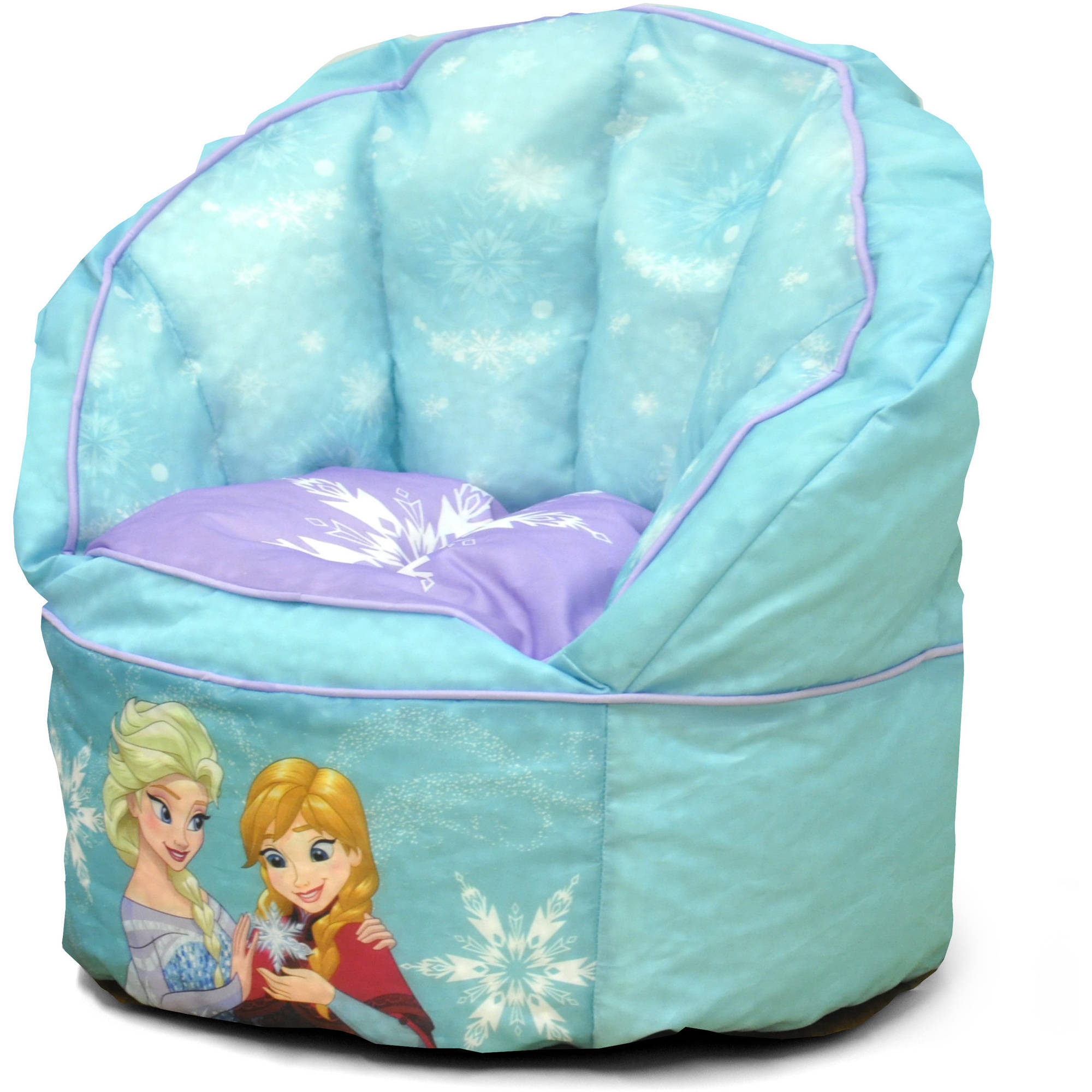Disney Frozen Sofa Bean Bag Chair with Piping