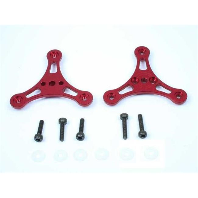 Aerial Freaks AF-3BHR CNC Aluminum Alloy Folding 3 Blades Propeller Holder - Red