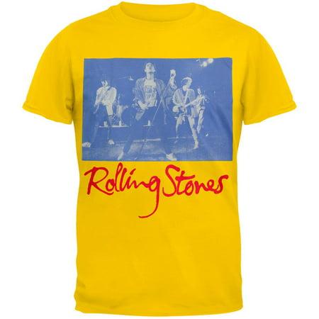 Liquid Blue Rolling Stones - Rolling Stones - Black and Blue Live T-Shirt