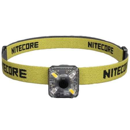 Headlamp Kit - NITECORE NU05 Kit White & Red USB Rechargeable Emergency Signal Headlamp
