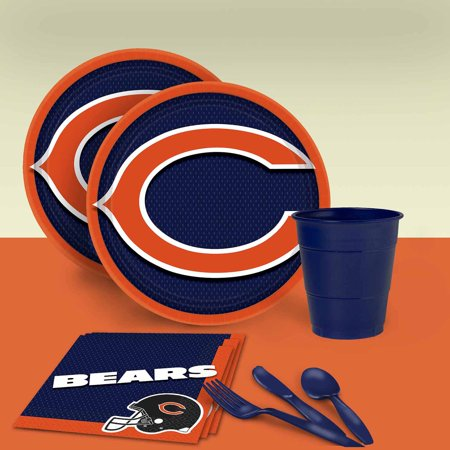 Blue Sweet 16 Themes (Chicago Bears Tableware Party Pack for)
