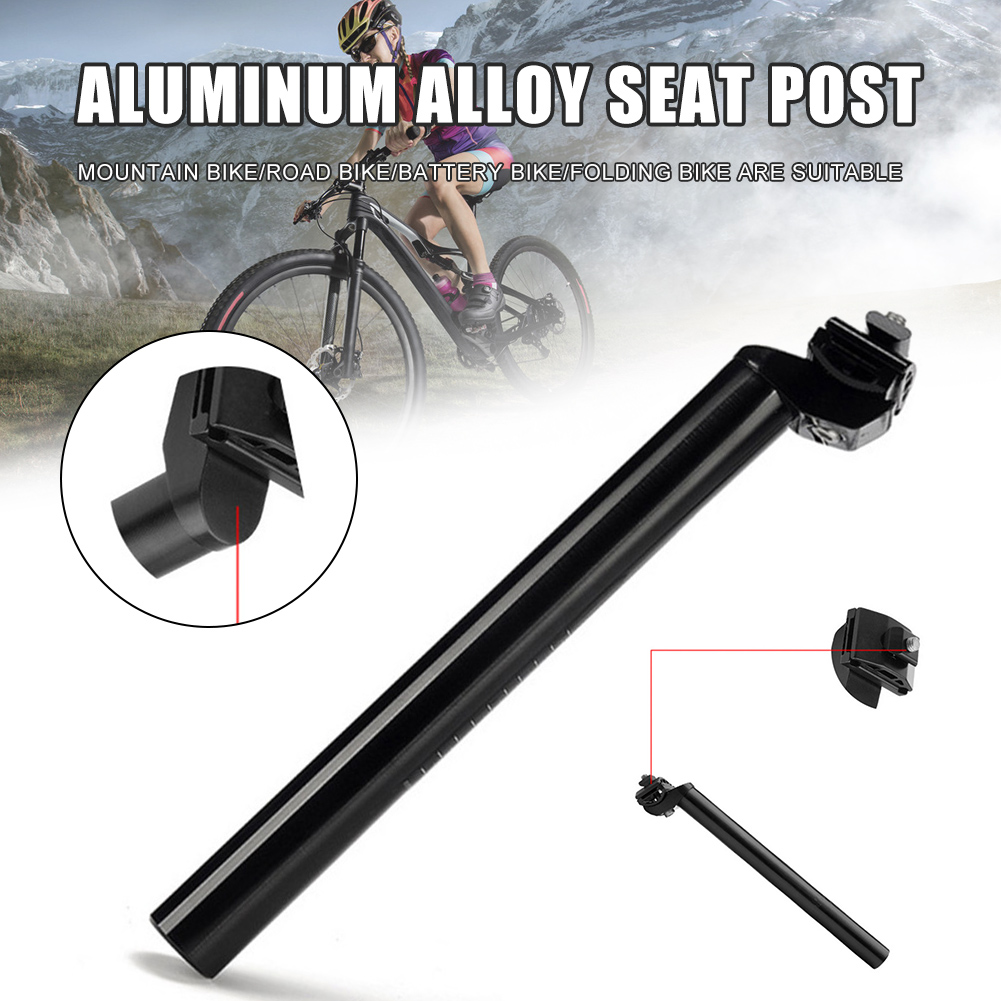 Details about  /Bicycle Seatpost Aluminium Alloy MTB Mountain Road Bike Seat Post 27.2mm Blk