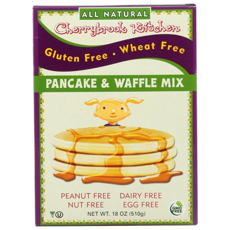 Cherrybrook Kitchen Pancake And Waffle Mix, 18 Oz, Pack of 6