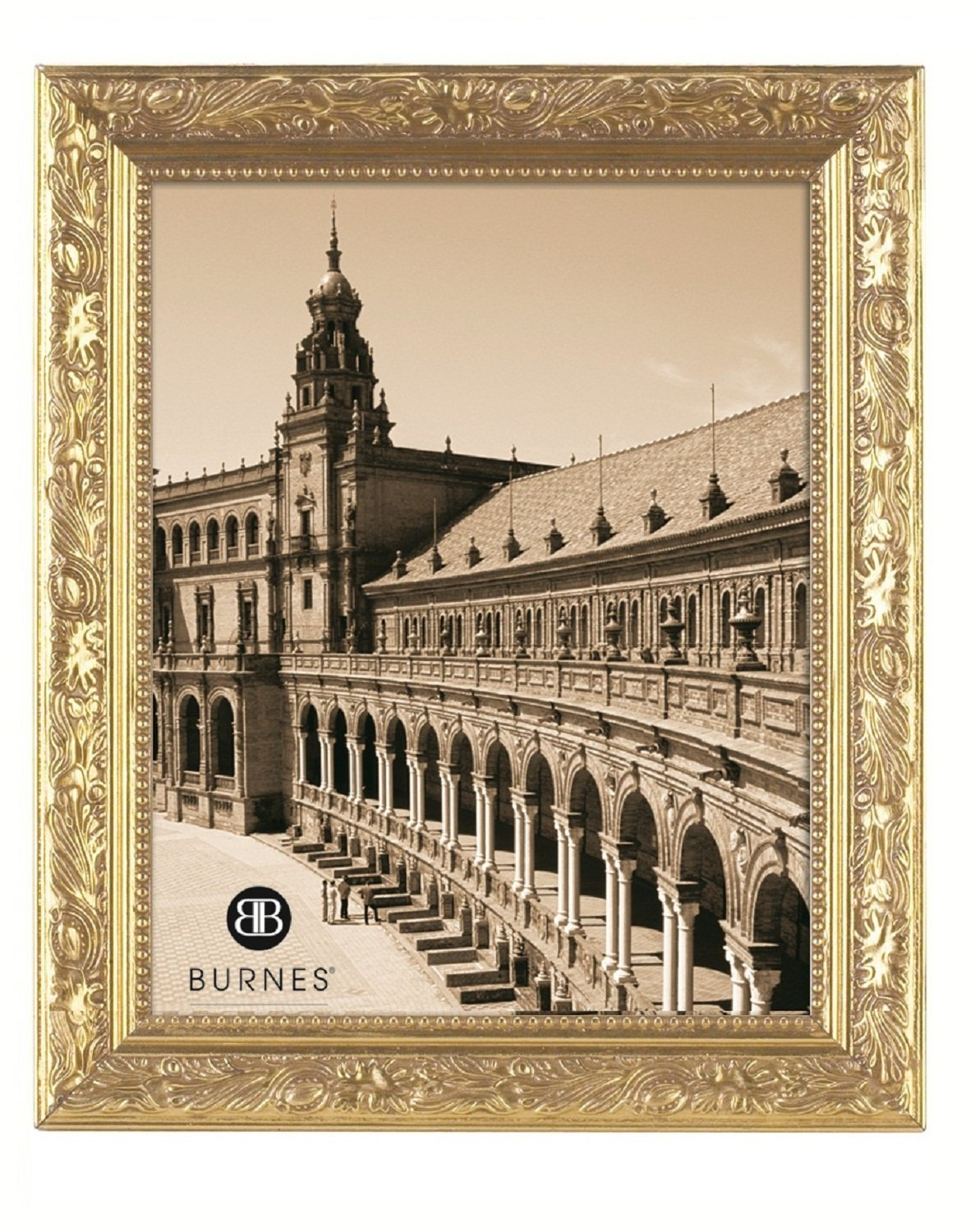 Burnes of Boston 266445 Windsor Leaves Picture Frame, 4-Inch by 5 ...