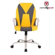 Gaming Chair Ergonomic Office Chair Desk Chair Executive Bonded Leather Computer Chair-Yellow