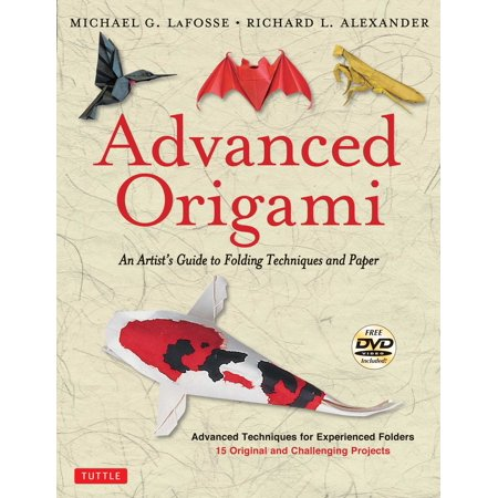 Origami De Halloween In Romana (Advanced Origami : An Artist's Guide to Performances in Paper: Origami Book with 15 Challenging Projects: Instructional DVD)