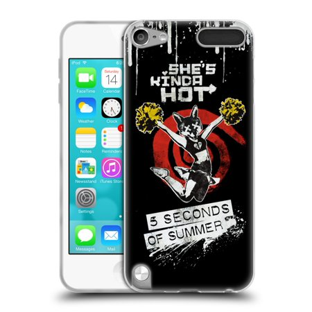 OFFICIAL 5 SECONDS OF SUMMER SHE'S KINDA HOT SOFT GEL CASE FOR APPLE IPOD TOUCH