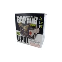 Raptor Tintable Truck Bed Liner 4 Liter Kit w/Olive Green Color Tint Pouch 1.5oz