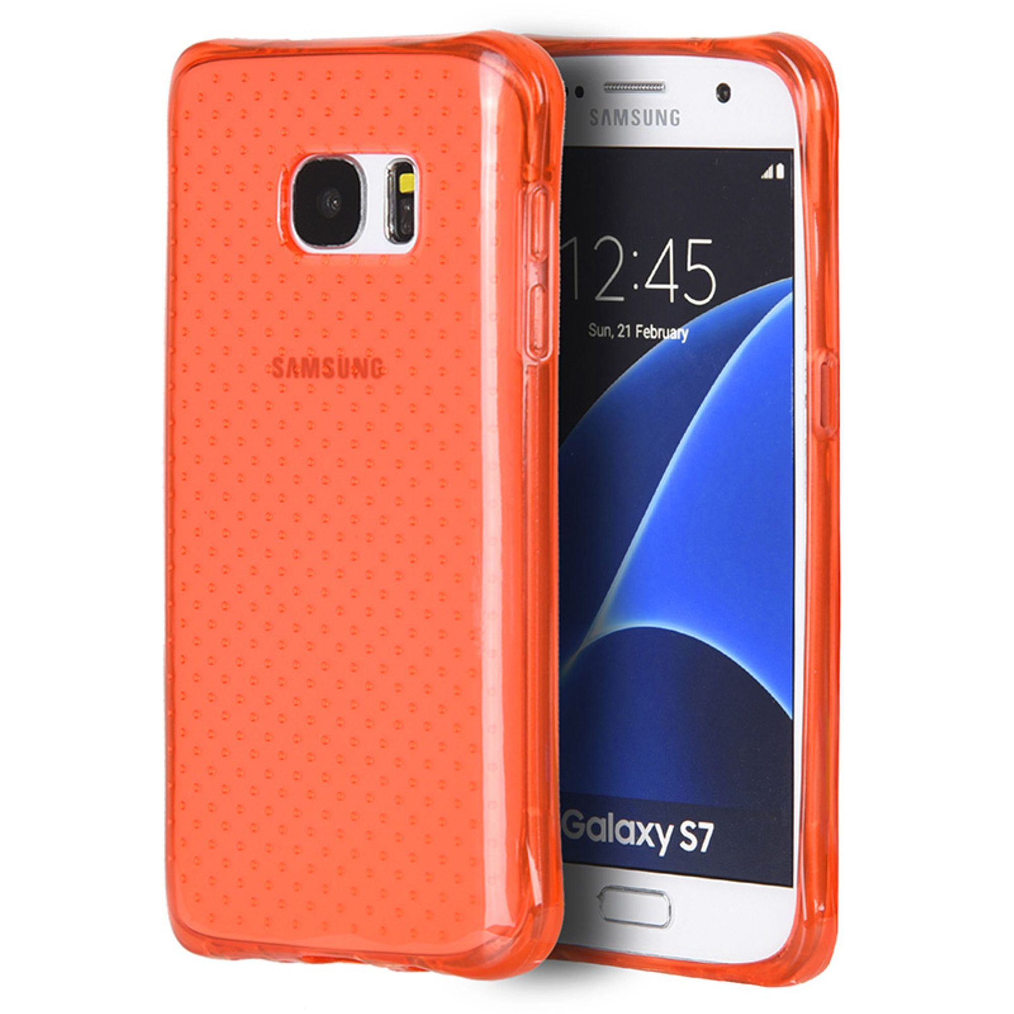 Samsung Galaxy S7 Case, by Insten Dots TPU Rubber Candy Skin Case Cover For Samsung Galaxy S7