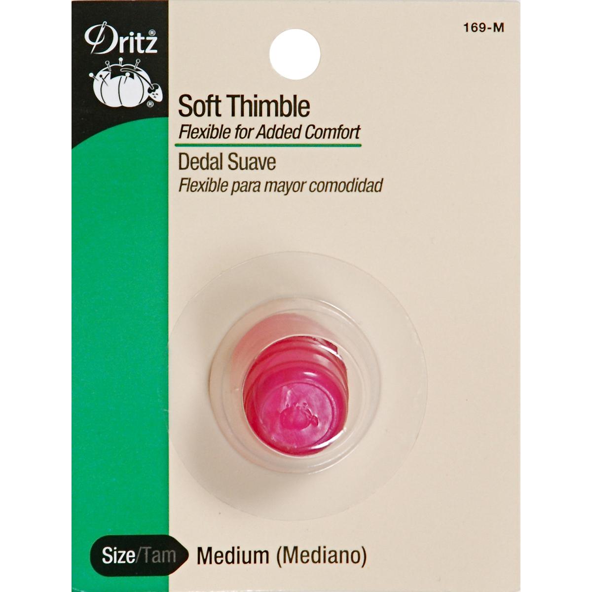 Dritz Soft Thimble-Medium