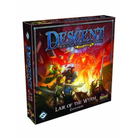 Descent: Journeys in the Dark 2nd Edition - Lair of the Wyrm Expansion, The first expansion for Descent: Journeys in the Dark Second Edition By Fantasy Flight - The Dark Games