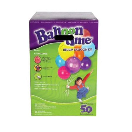Balloon Time Helium Balloon Kit Boxed - Helium Container