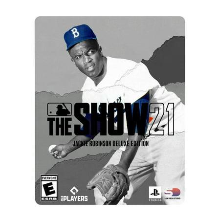 MLB The Show 21 Jackie Robinson Deluxe Edition, Major League Baseball, Xbox One,Xbox Series X, 696055229376