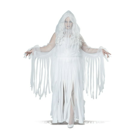 Plus Size Ghostly Spirit Costume](Ghostly Ghoul Costume)
