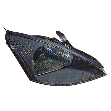 - 2003-2004 Ford Focus w/o SVT Passenger Right Side Headlight Lamp Assembly