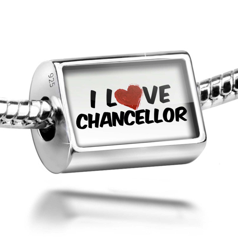 Bead I Love Chancellor Wine Charm Fits All European Bracelets
