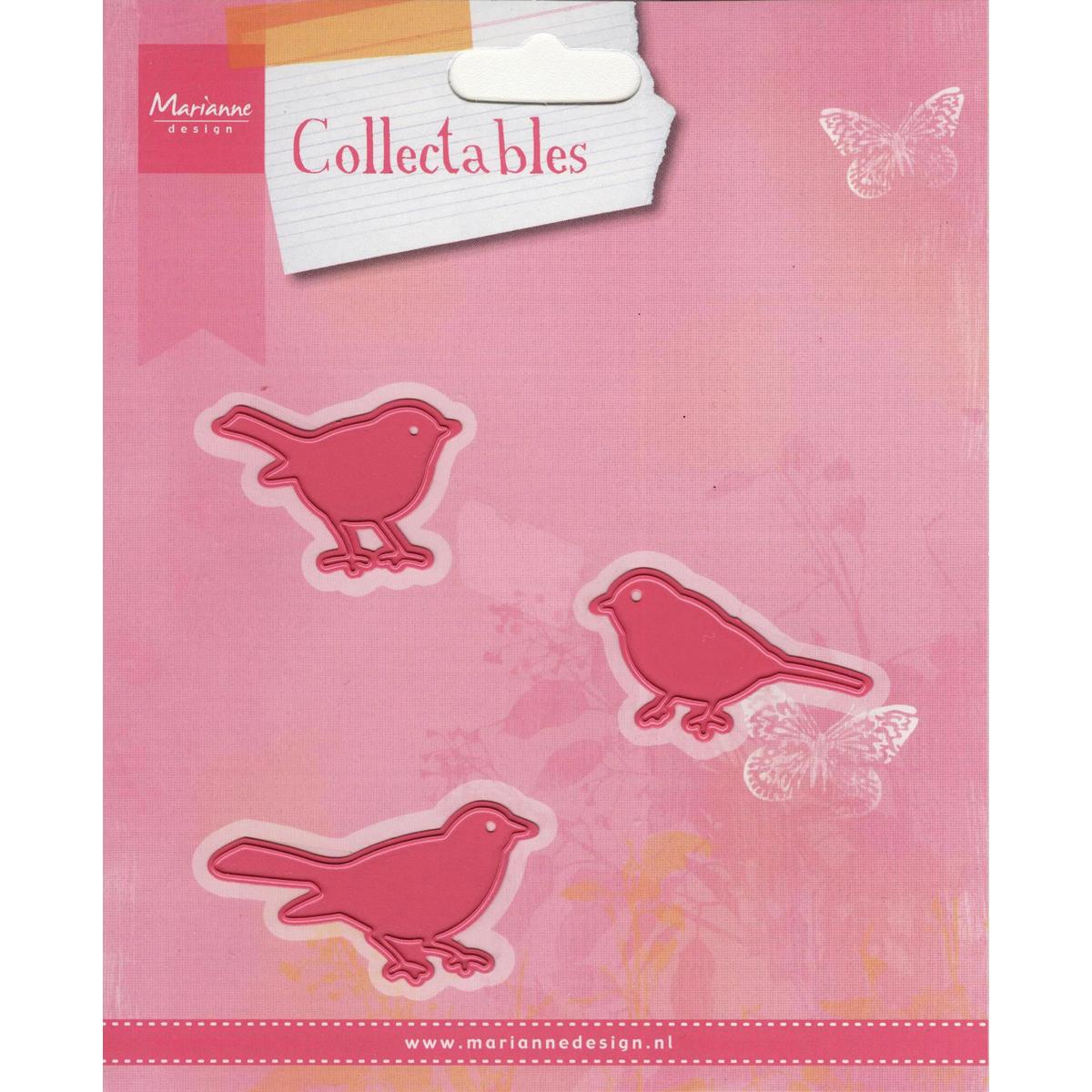 """Marianne Design Collectables Dies-Birds, 1.5""""X1"""""""