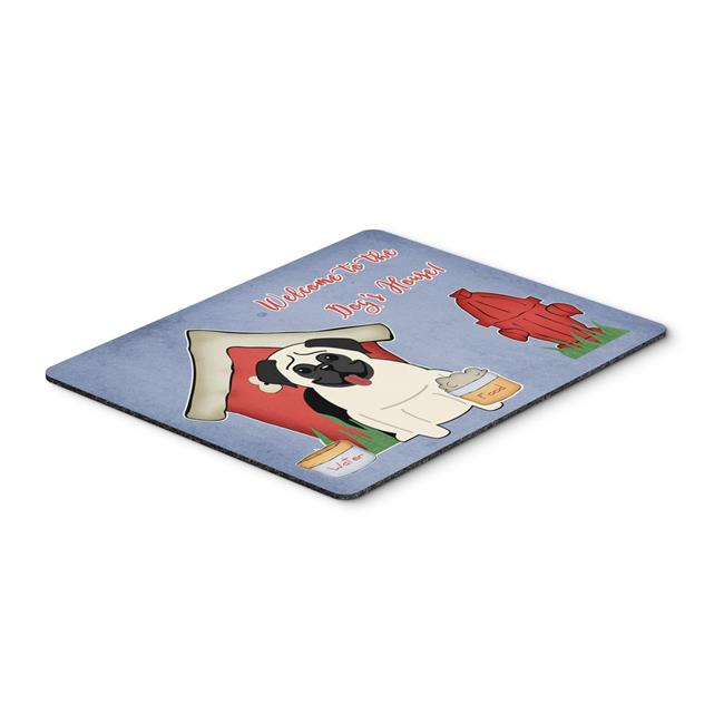 Carolines Treasures BB2758MP Dog House Collection Pug Cream Mouse Pad, Hot Pad or Trivet - image 1 of 1