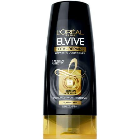 Elite Hair Products (L'Oreal Paris Elvive Total Repair 5 Repairing Conditioner 12.6 FL OZ)