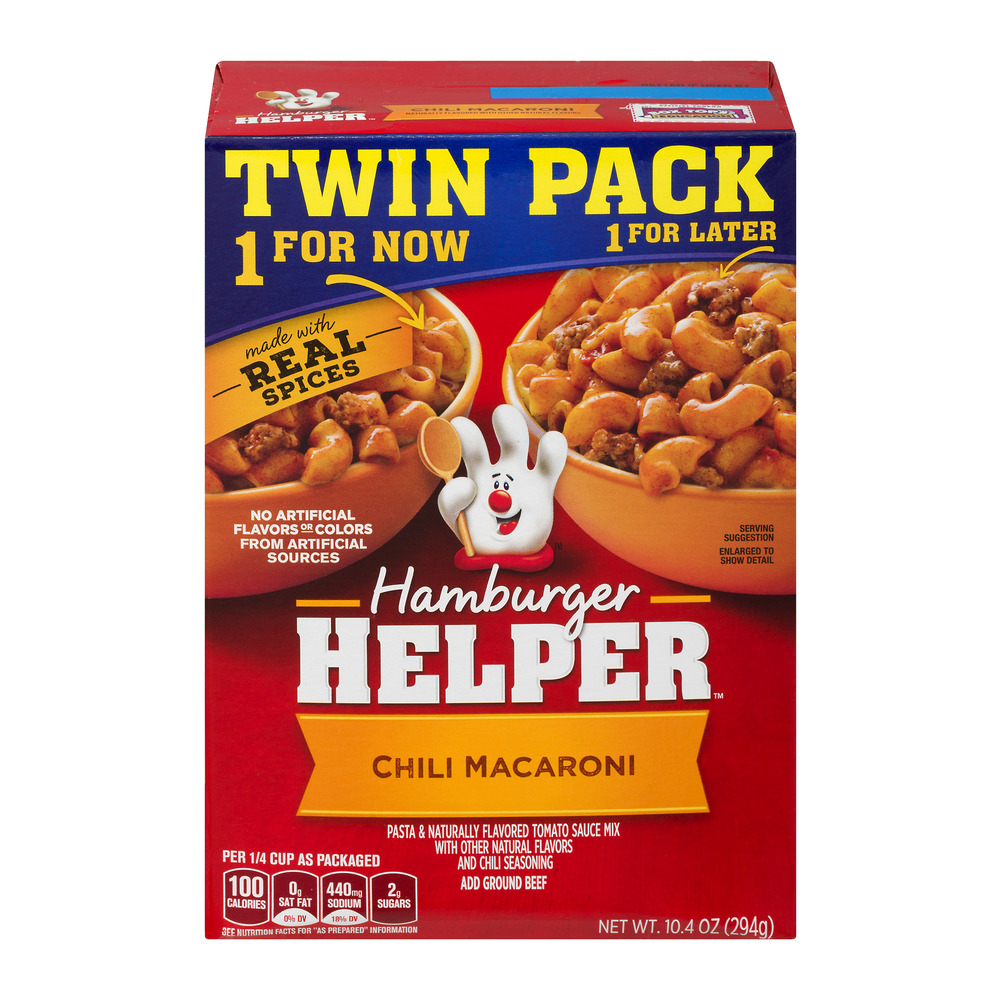 Hamburger Helper Chili Macaroni - 2 PK, 10.4 OZ