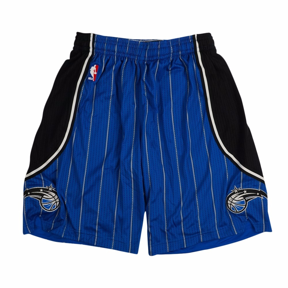 Orlando Magic NBA Adidas Blue Authentic On-Court Climacool Team Game Shorts For Men