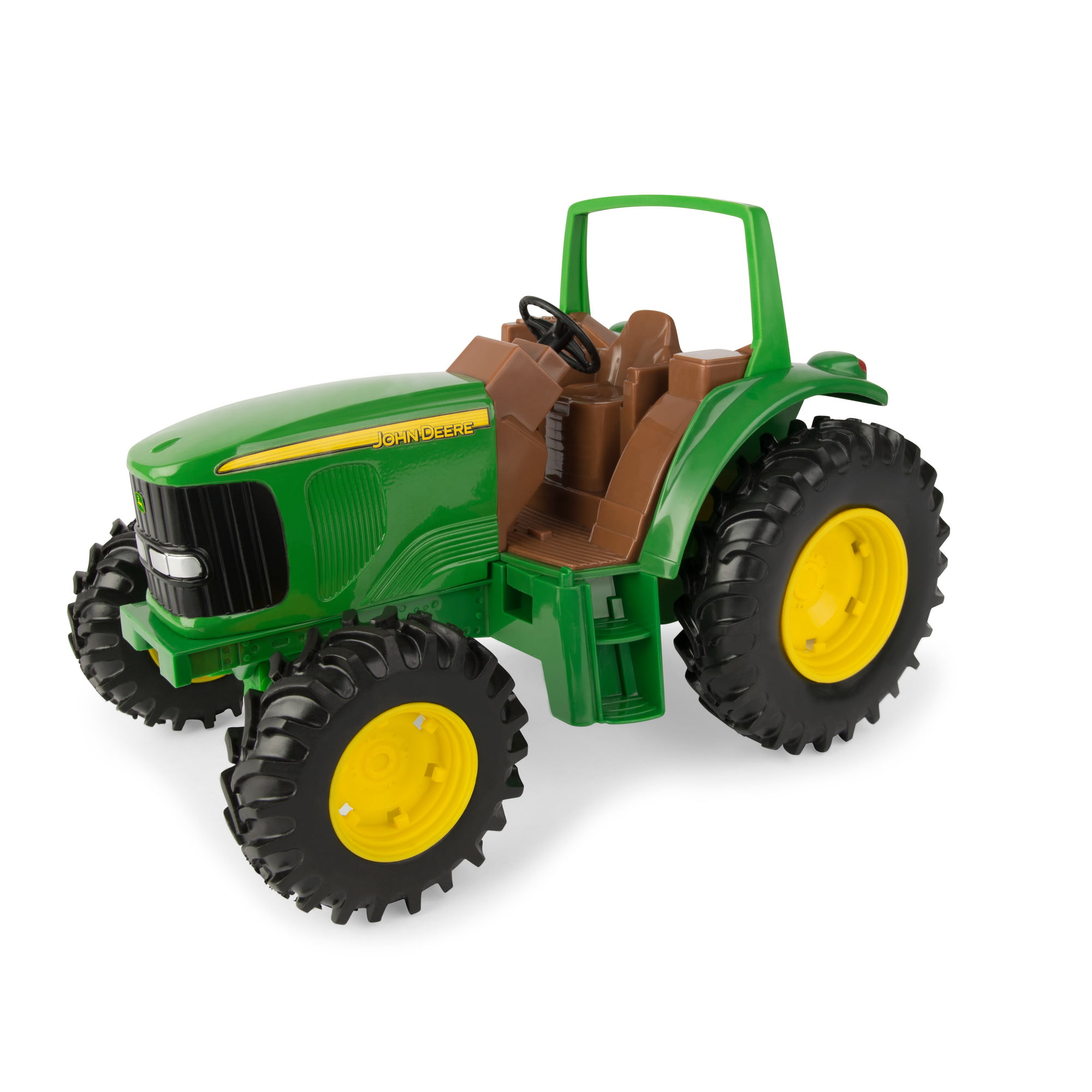 John Deere Tough Tractor Toy, Die-Cast 6930 Tractor, Build Sandbox Tough, 1:16 Scale
