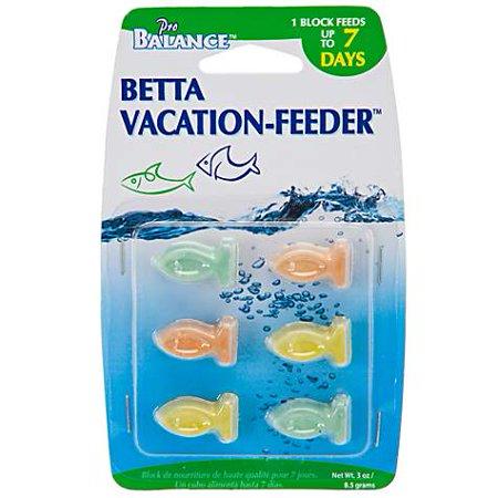 Penn Plax Pro Balance 7-Day Betta Blocks Fish Food (pack of 4) Fish Food Block
