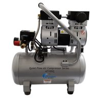 California Air Tools 4710SQ Quiet Flow 1.0 Hp, 4.7 Gal. Steel Tank Air Compressor