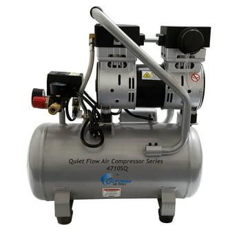 California Air Tools 4710SQ Quiet Flow Steel Tank Air Compressor