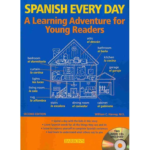 Spanish Every Day: A Learning Adventure for Young Readers