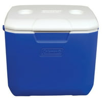 Coleman 30-Quart Picnic Cooler, Blue