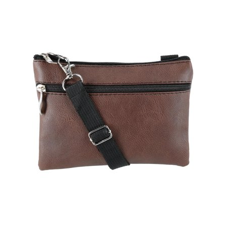 Convertible Faux Leather Fashion Waist Pack Crossbody