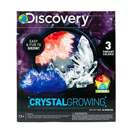 Discovery Crystal Growing Kit - Children's Christmas Crafts