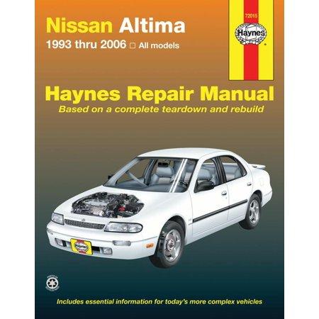 Haynes Manuals 72015 Repair Manual Nissan Altima; English; Paper Format - image 1 of 1