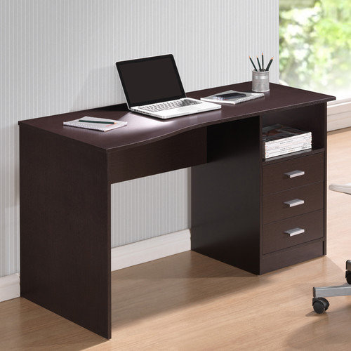 Techni Mobili Classy Computer Desk with Privacy Panel