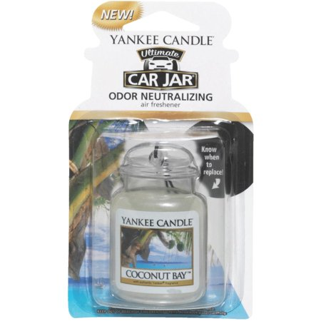 Yankee Candle Car Jar Ultimate Car Air Freshener, Coconut 1220879