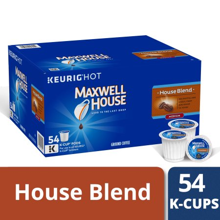 Maxwell House House Blend Coffee K-Cup Packs 54 ct Box