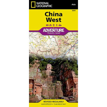 National Geographic Adventure Map China West