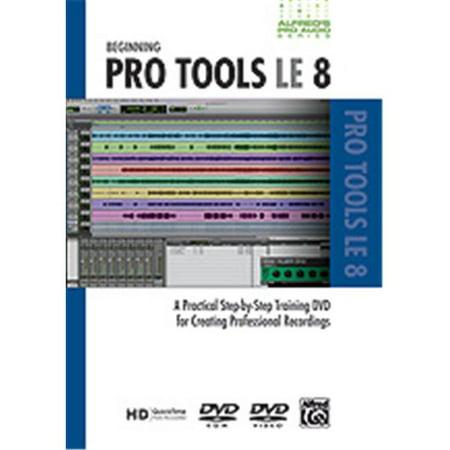 Alfred 00-33635 S-rie Pro Audio - D-butant ProTools LE 8 - Livre de musique - image 1 de 1