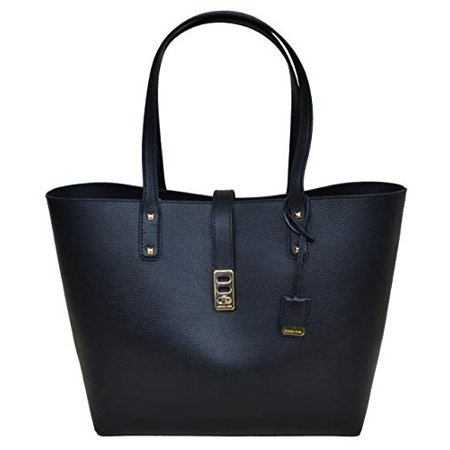 Michael Kors Karson LG Carryall Tote Leather - Black Black Quilted Leather Tote