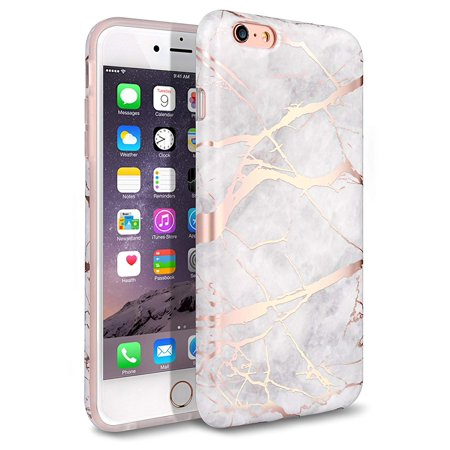 new product 8a790 5eaa2 iPhone 6 Plus Case, iPhone 6S Plus Case, Shiny Rose Gold White ...