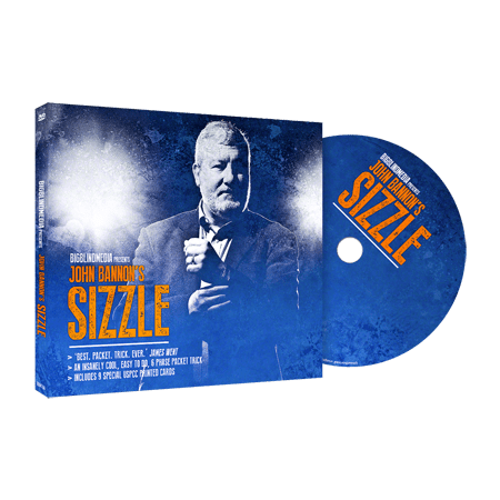 Sizzle  Dvd And Gimmicks  By John Bannon And Big Blind Media   Trick