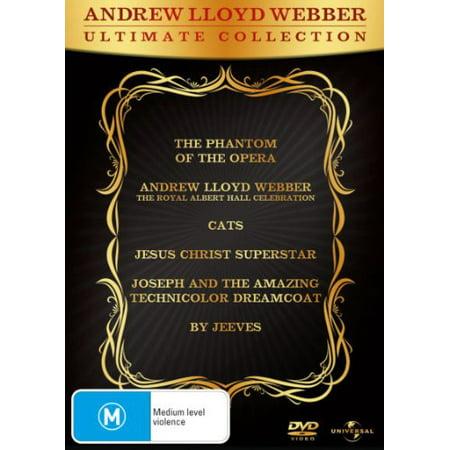 Andrew Lloyd Webber - Ultimate Collection - 6-DVD Set ( The Phantom of the Opera / Andrew Lloyd Webber: The Royal Albert Hall Celebration / Cats / Jes [ NON-USA FORMAT, PAL, Reg.0 Import - Australia ] ()